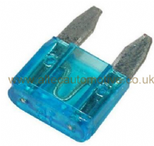 Car MINI BLADE type fuses (ATM)